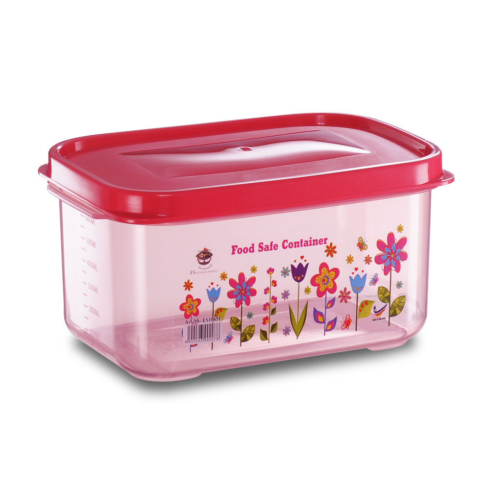 Es1065f Flora Food Safe Container Red