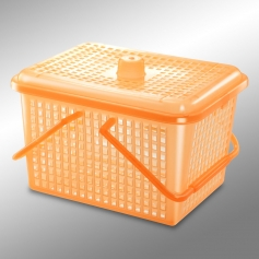 ES328HC Basket With Handle & Cover