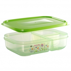 ES301-3F Flora Series Lunch Box (3 Compartment)