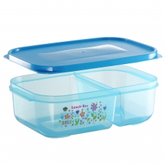 ES302-2F Flora Lunch Box (2 Compartment)