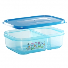 ES303-2F Flora Lunch Box (2 Compartment)