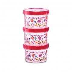ES4872/3 3-in-1 Flora Food Safe Container