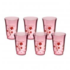 ES6011/6F 10oz Floral Series ABS Water Cup