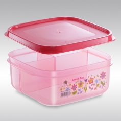 ES15091F Flora Series Square Lunch Box