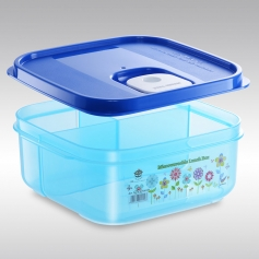 ES15091M Microwaveable Series Square Lunch Box