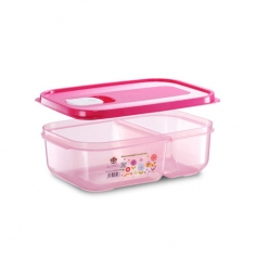 ES302-2M Microwaveable Lunch Box (2 Compartment)