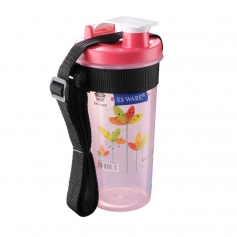 ES8058SS ECO Water Tumbler with FlipTop Cap and Sling (550ml) New Design!