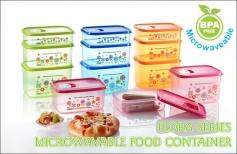 Flora Microwaveable Food Container Series 3