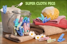 Super Cloth Pegs