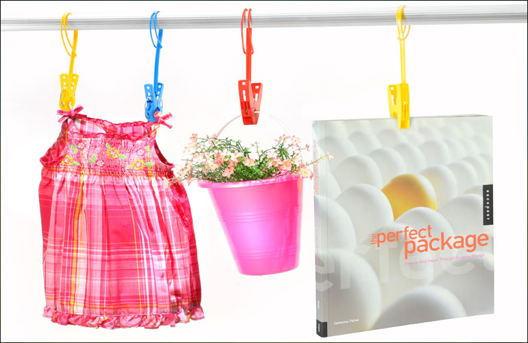 Clothes Pegs with String