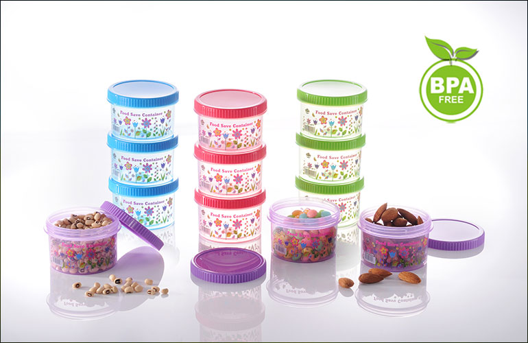 Flora - Food Safe Container Series 4