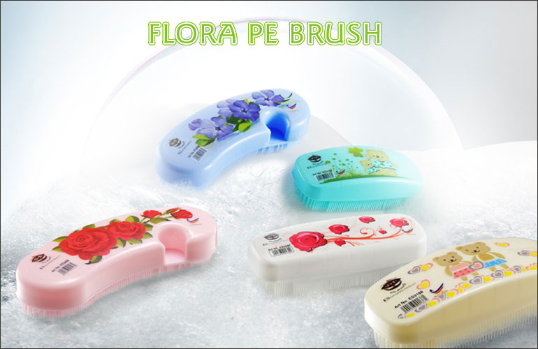 Flora Laundry Brush