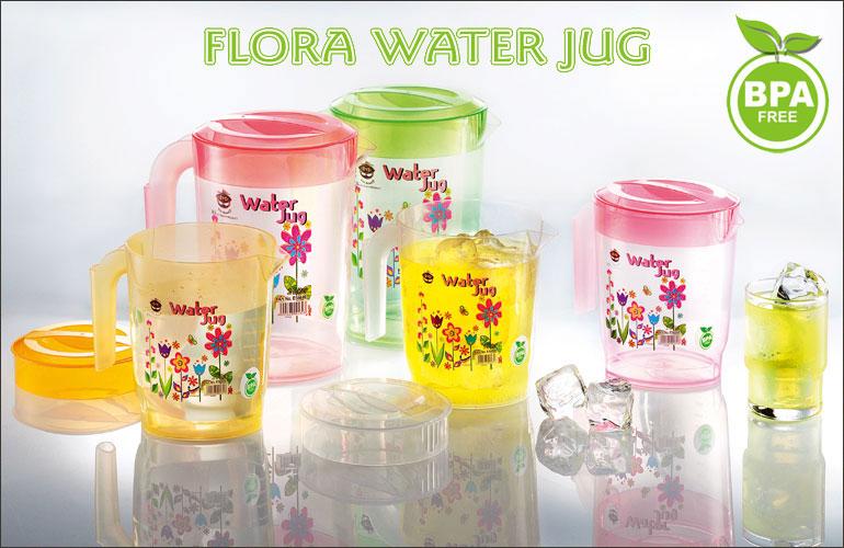 Flora Water Jug
