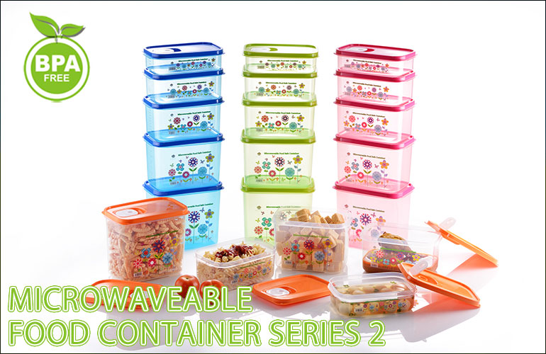Microwaveable Food Container Series 2