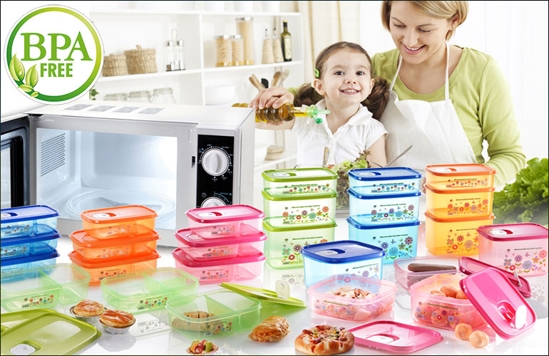 Microwaveable Food Container