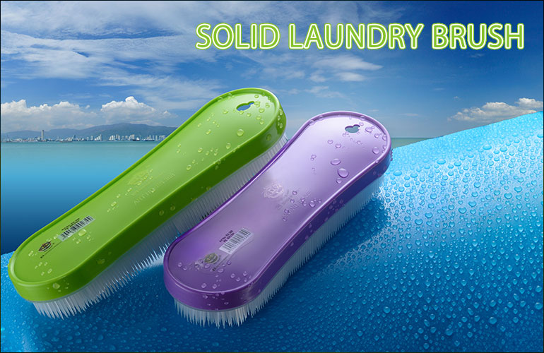 Solid Laundry Brush